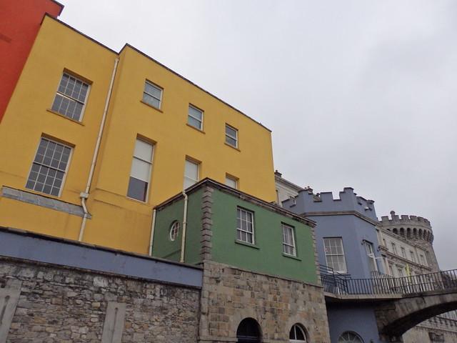 Behind Dublin Castle, I
