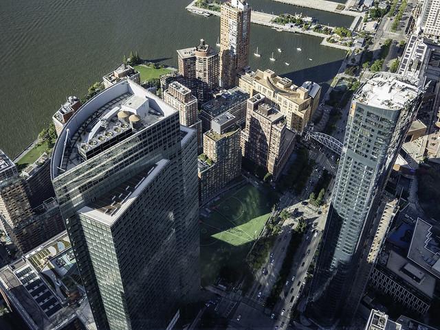 Rockefeller Park from One World Trade Center