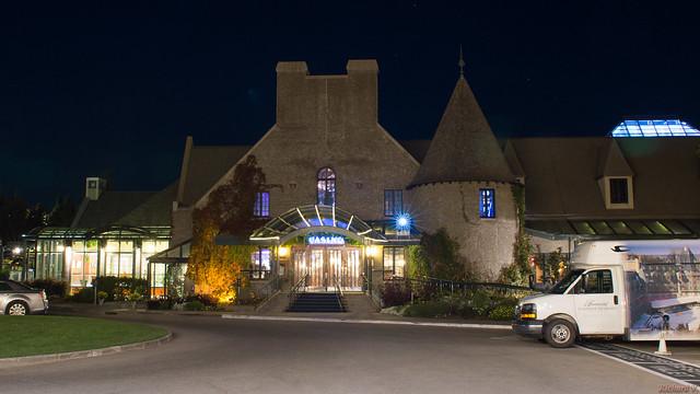 Casino de Charlevoix la nuit - La Malbaie, P.Q., Canada - 7356