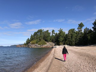 Lake Superior Park Linda on the beach | by Pierre Yeremian