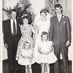 Wedding 43 Peter Jackson (brother) Adeline Jackson (wife)   children Debby & Wendy Gwen & John
