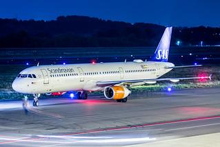 OY-KBF SAS Scandinavian Airlines Airbus A321-200, Maastricht Aachen Airport - EHBK/MST | by neplev1