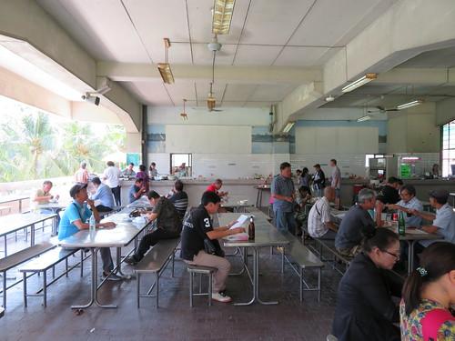 ロイヤルバンコクスポーツクラブグルメ2階の食堂