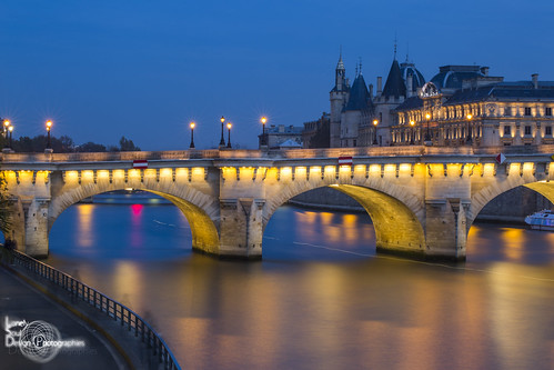 Blue Hour over Paris