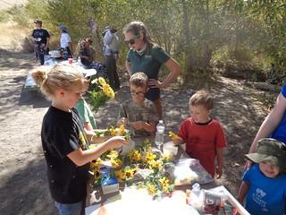 Kids Looking at Flowers | by Nevada Outdoor School