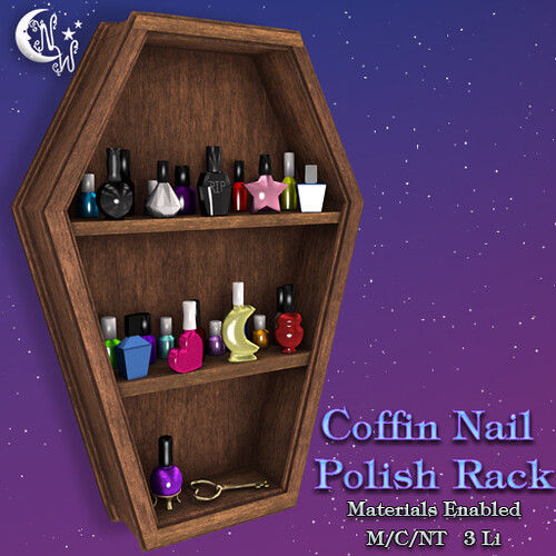 *NW* Coffin shelf - Brown | by NeverWish