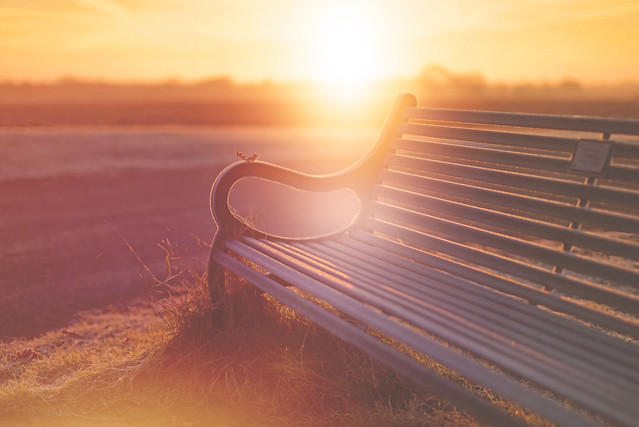 September Sunrise... #HappyBenchMonday