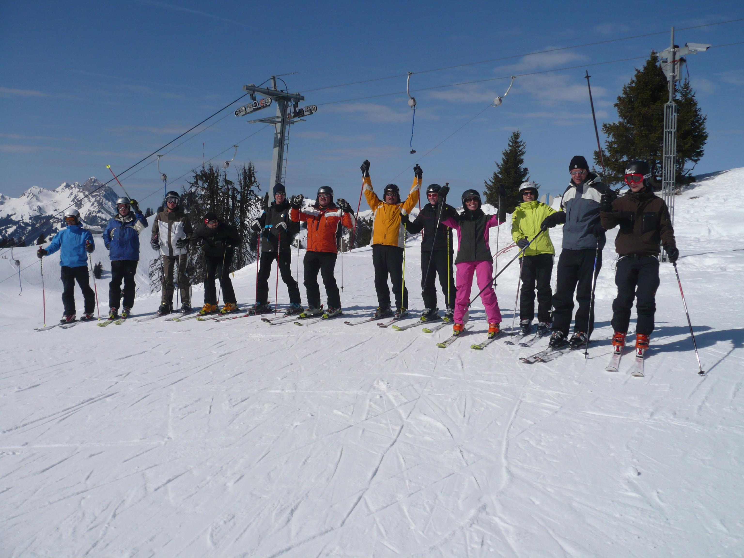 Skiclubausflug Rinderberg