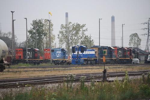 CN Sarnia Yard Engines | by tcamp7837