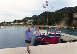 Julia at Paleocastritsa Harbour | by pj's memories
