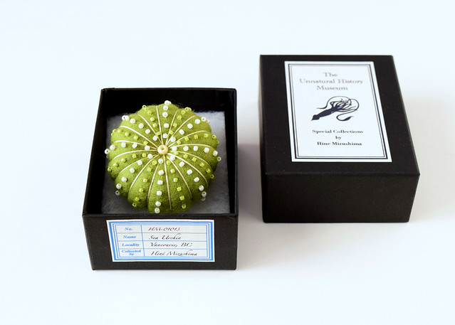 Sea Urchin Brooches