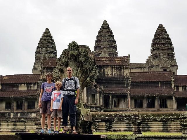 Grasshopper Tours Angkor Wat day ride