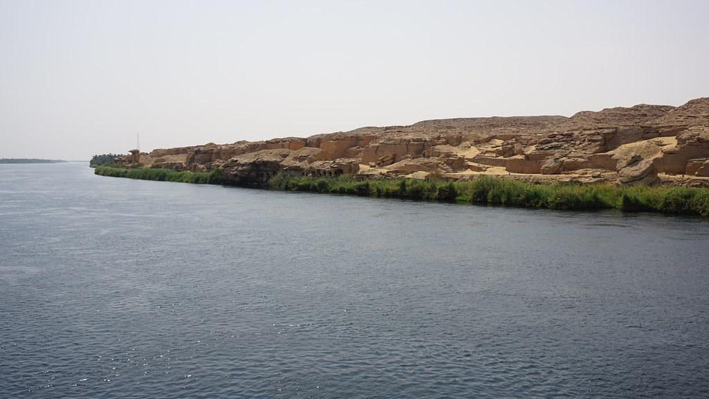 Gebel el-Silsila, Nile River, Egypt.