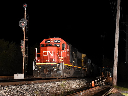 cn sd60 5404 broadview