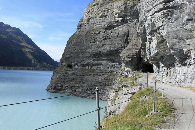 lac et barrage de Mauvoisin