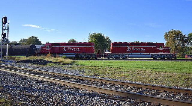 Indiana Railroad at Linton Indiana