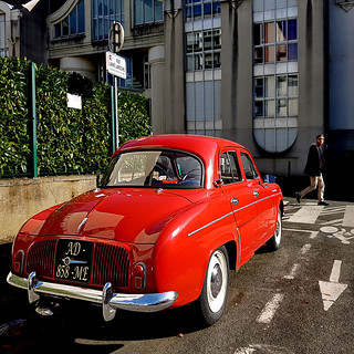 Renault Dauphine  - Angers, France | by pom'.