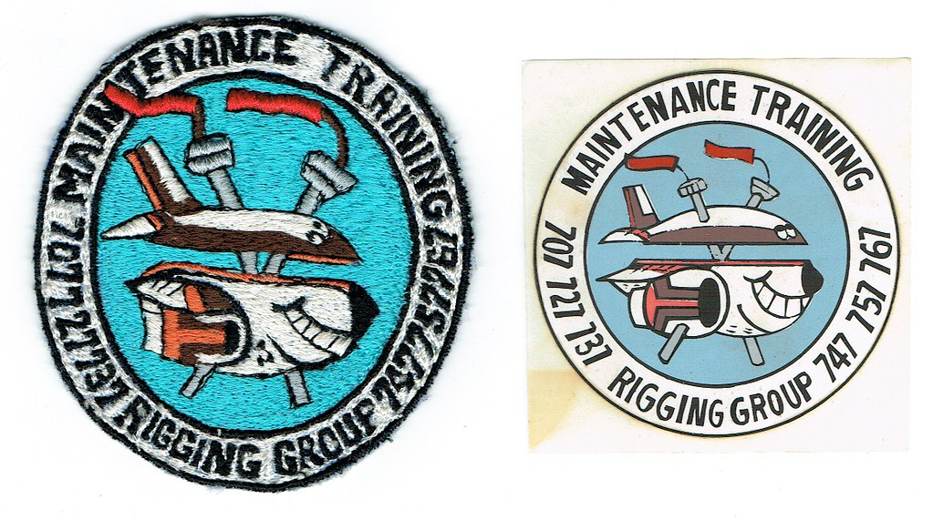 Boeing Rigging Group Maintenance Training Patch | A true one… | Flickr