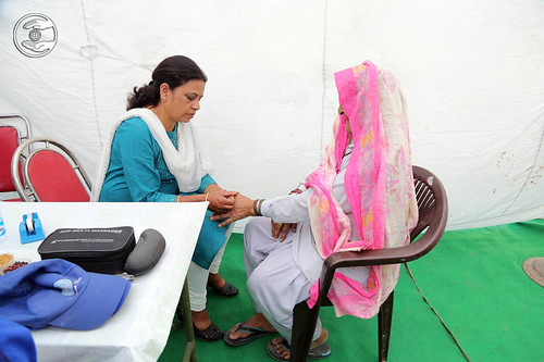 Health Checkup in the village