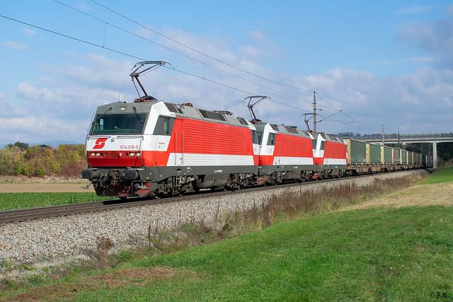 1014 016 + 1014 003 + 1014 004 mit STEC  96981, Nöstlbach-St. Marien