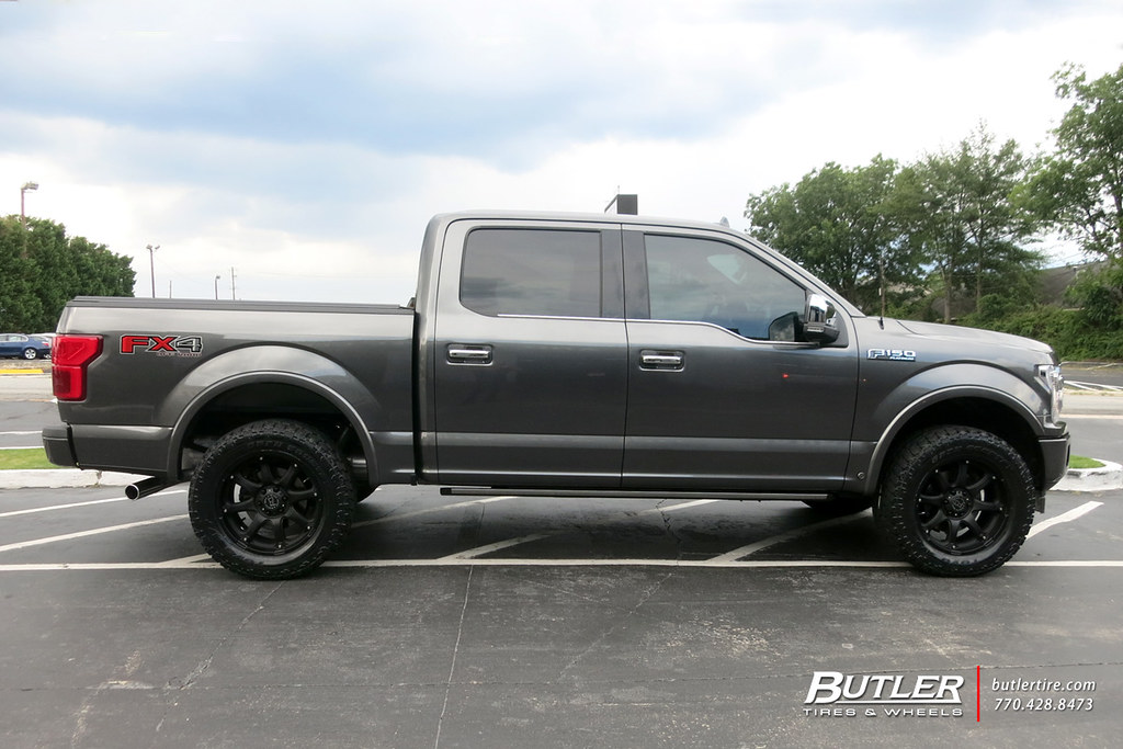 Ford F150 Wheels >> Ford F150 With 20in Black Rhino Glamis Wheels And Toyo Ope