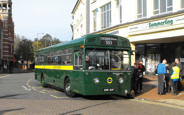 MB 90, SMM 90F, AEC Swift @ Chesham 2018 (1)