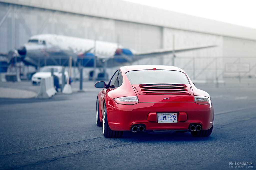 Guards Red 911 (997 2) | Rotiform Wheels | BC Racing Coilo