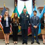 Thu, 09/20/2018 - 13:39 - On Thursday, September 20, 2018, the William J. Perry Center for Hemispheric Defense Studies honored General Salvador Cienfuegos Zepeda, Secretary of National Defense of Mexico, and Escola Superior de Guerra (ESG), National War College of Brazil, with the 2018 William J. Perry Award for Excellence in Security and Defense Education. Named after the Center's founder, former U.S. Secretary of Defense Dr. William J. Perry, the Perry Award is presented annually to individuals who and institutions that have made significant contributions in the fields of security and defense education. From the many nominations received, awardees are selected for achievements in promoting education, research, and knowledge-sharing in defense and security issues in the Western Hemisphere. Awardees' contributions to their respective fields further democratic security and defense in the Americas and, in so doing, embody the highest ideals of the Center and the values embodied by the Perry Award.
