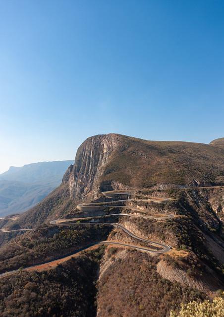 The road at serra da Leba, Huila Province, Lubango, Angola