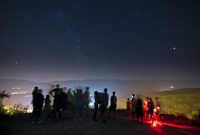 Excursió estelada / Night trip to the stars