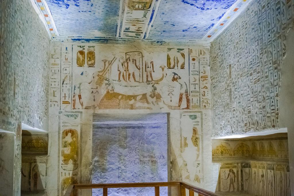 Долина царей. Египет. Древнее захоронение . Egypt DSC_0117