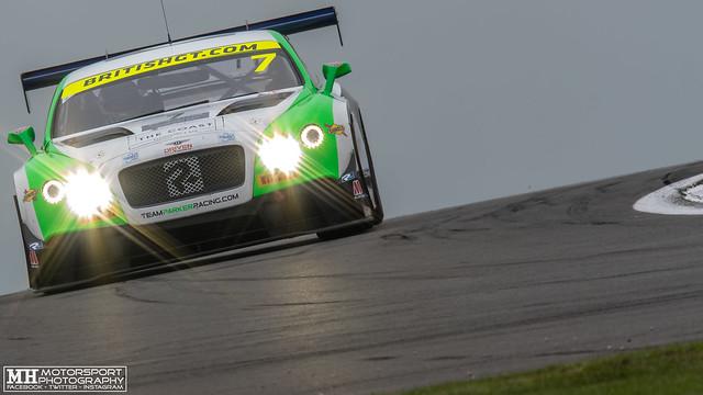 Callum Macleod & Ian Loggie #7, Team Parker Racing Bentley Continental GT3
