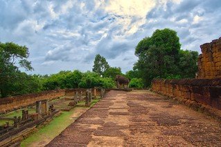 East Mebon temple ruins in Angkor Archeological Park near Siem Reap, Cambodia | by UweBKK (α 77 on )