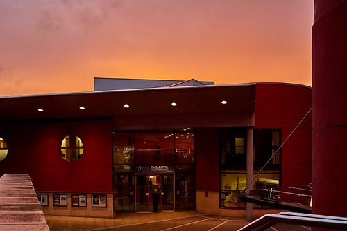 basingstoke hampshire architecture sunset zuikoom2835shift theanvil urban building