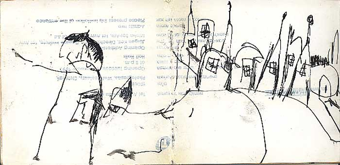 Contemporary Drawing Sketches And Works Of Art On Paper Mo