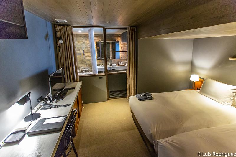 Habitación del Hotel Cycle