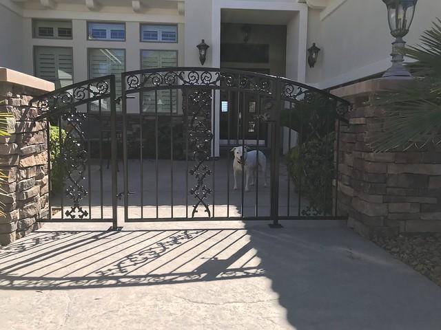 Courtyard Gate
