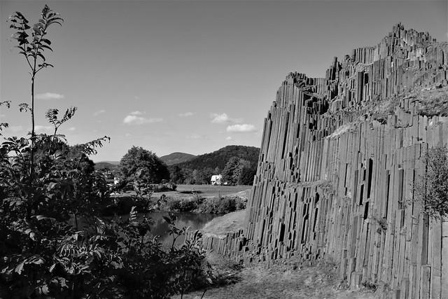 Panska Skala - basalt rocks czech republic
