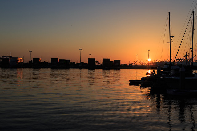 Sunrise in San Pedro