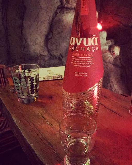 #kvpinmybelly Celebrating Xmas early. Fell in love with Avua Amburana at @falseidoltiki. This rum from Brazil tasted like gingerbread and fruitcake, in a good, boozy way. #rum #tikibar