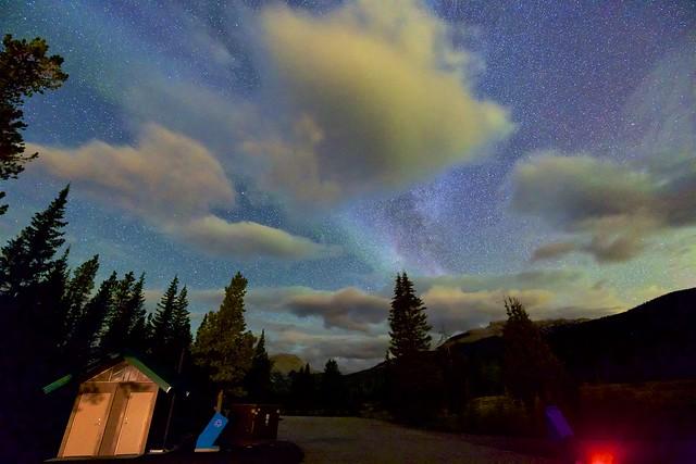 Aurora Spectrograph in Action