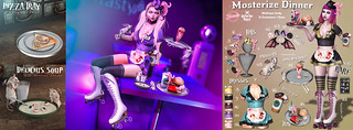 Mosterize Dinner gacha | by May Tolsen *** Tentacio ***