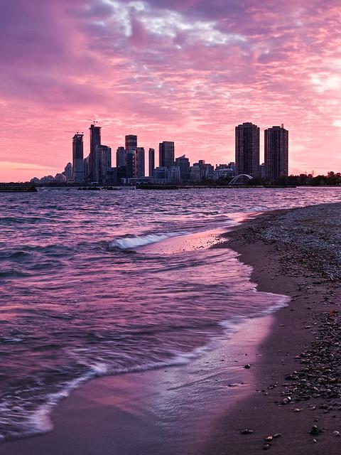 Sunnyside Beach Sunset