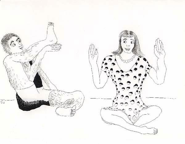 ... Dibujos de hombre y mujer relación y amor, dibujo hombres mujeres dibujos arte tinta sobre