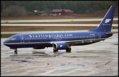b738 b737800 boeing boeing737 737 b737 737800 boeing737800 737ng b737ng boeing737ng essa arn stockholm arlanda stockholmarlanda stockholmarlandaairport stockholmarlandaflygplats snb sterling sterlingairways 2003 oyseb