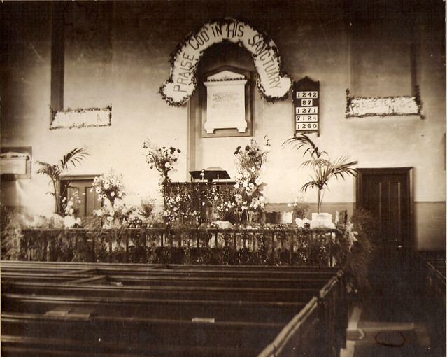 Church Pulpit - Easter 1906