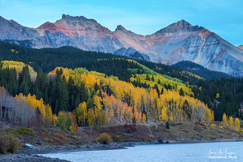 troutlake alpinelake telluride autumn seasons fall foliage nature landscapes coloradolandscapes colorado forest wilderness mountains rockymountains beautiful peaceful trees aspens colorful lakes highcountry travel scenic jamesboinsogna photography unitedstates