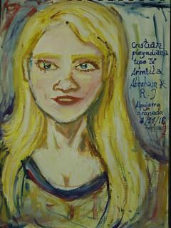 Cristian,Mujer nórdica de Las Pleyades,vista en Armilla