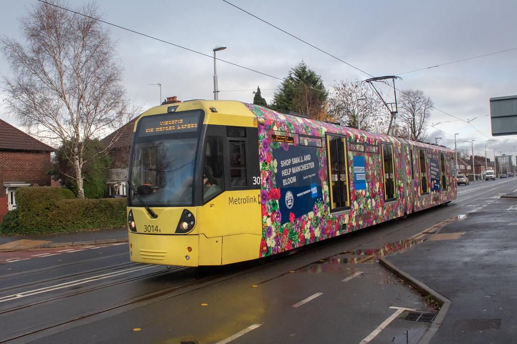 Manchester Metrolink 3014