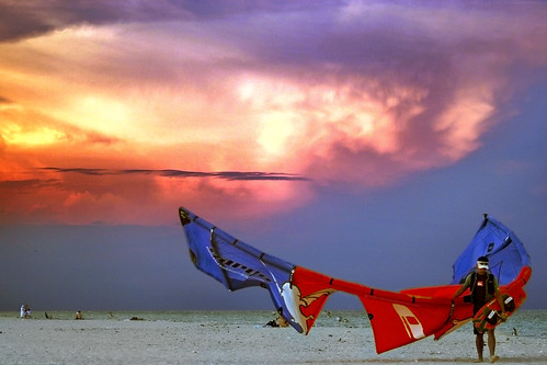 sunset usa sonnenuntergang florida miami parasail northamerica southbeach solnedgang sobe ishootdigital